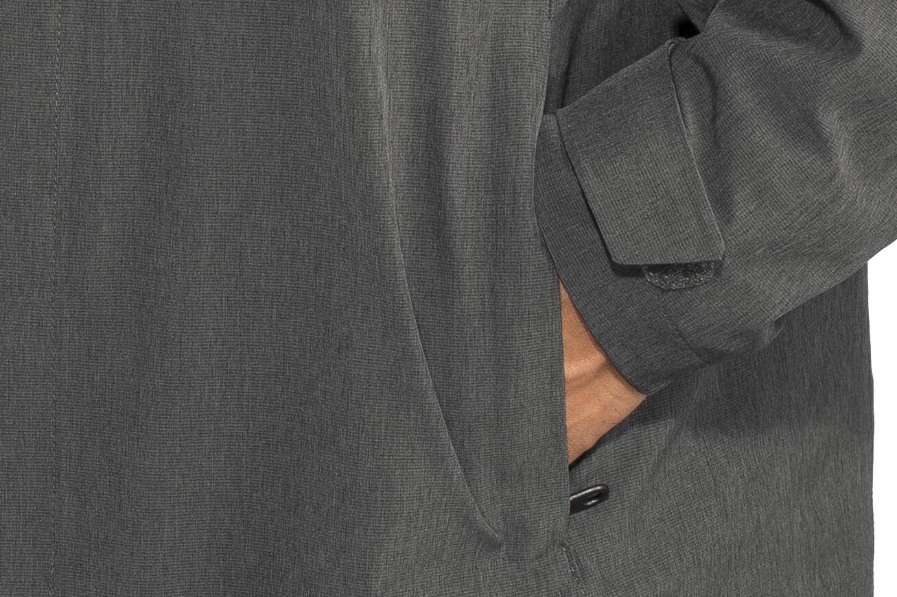 Bergans Oslo 2L Insulated Jacket Herren solidcharcoal mel